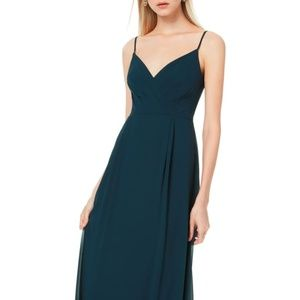 Bill Levkoff chiffon bridesmaid/prom dress in Navy